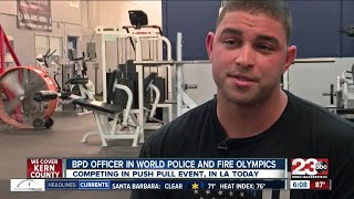 BPD amputee competing in Police and Fire Olympics in LA