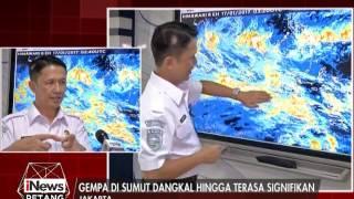 BMKG Himbau Kepada Warga Di Sumut Gempa Yang Terjadi Tidak Berpotensi Tsunami  INews Petang 17/01