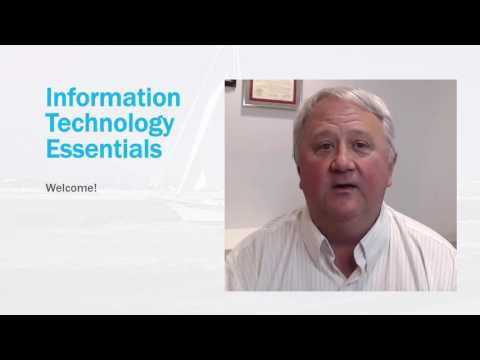 Information Technology Essentials Class Overview - YouTube