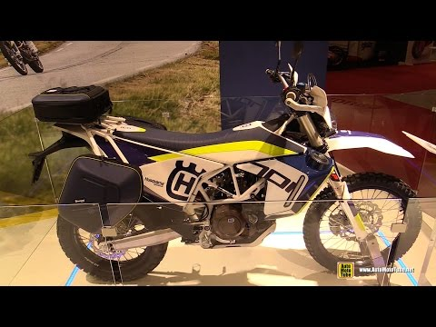 2016 Husqvarna 701 Enduro Accessorized - Walkaround - 2015 Salon de la Moto Paris