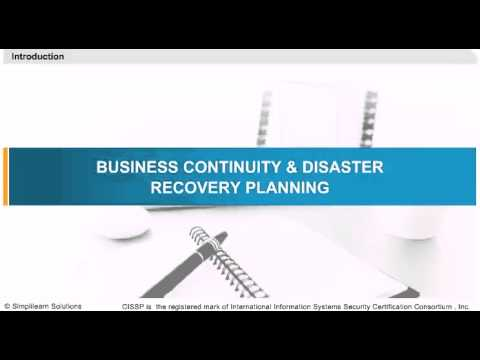Business Continuity and Disaster Recovery Planning | CISSP Online ...