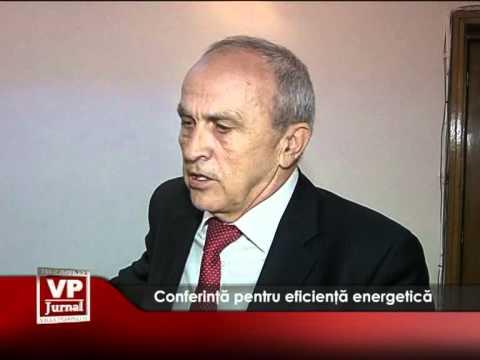 Conferință pentru eficiență energetică
