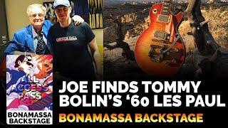 Joe Bonamassa finally finds Tommy Bolin of Deep Purple's 1960 Les Paul