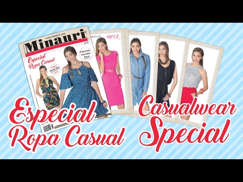 Minauri Nº 18 Ropa Dama - Casual - Women Clothing ( Pattern Magazine )