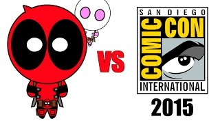 Deadpool vs Comic-Con 2015