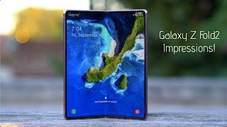 Samsung Galaxy Z Fold2 5G Impressions After 72 Hours!