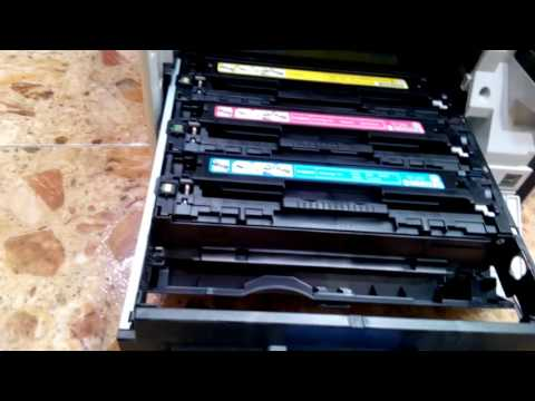 Review & Replacing Toner Cartridges on Canon Printer MF8280cw