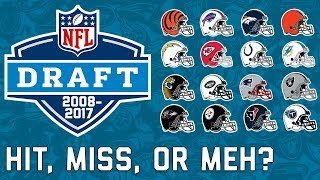 Every AFC Team's Last 10 1st Round Picks & How they Fared in the NFL | NFL Highlights