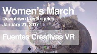 VR 360º Los Angeles Women's March