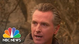 CA Gov. Newsom On Wildfire Devastation: Impact Of Climate Change Cannot Be Denied | NBC Nightly News