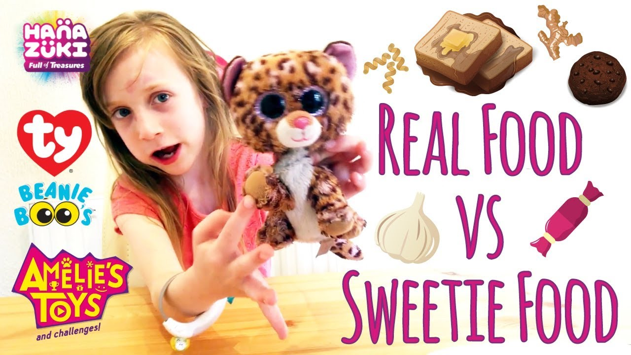 Real Food vs Sweetie Food video