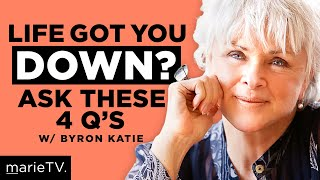 Stuck In A Negative Headspace? Stop Suffering W/ Byron Katie's 4 Questions (LIVE Demonstration)