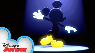 Mickeys Hot Dog Dance Party! | Mickey Mouse Hot Diggity Dog Tales | Disney Junior