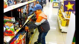 Машинки Игрушки для мальчиков Купили новые игрушки + Доброе Дело Video for kids
