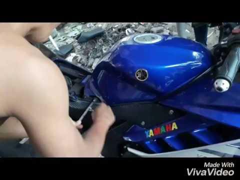 Video Cara Pasang Kondom Tanki Yamaha R15