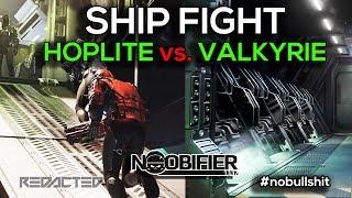Ship Fight #6 Hoplite vs Valkyrie - #starcitizen