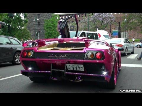 Lamborghini Diablo GT with Power Craft Exhaust REVS!