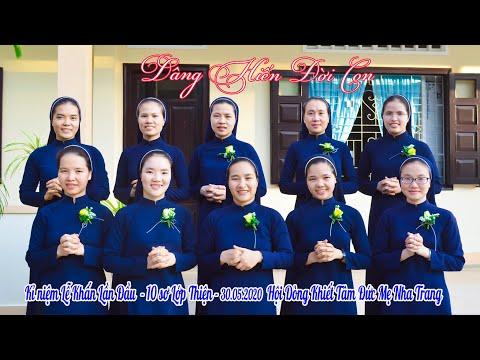 Lễ Khấn Lần Đầu Lớp Thiện - Dòng Khiết Tâm Đức Mẹ