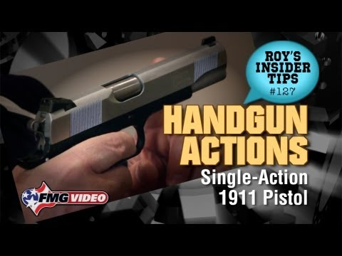 Handgun Action Part 6: Single-Action 1911 Pistol