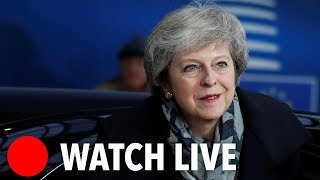 Brexit LIVE: Theresa May holds news conference after EU summit