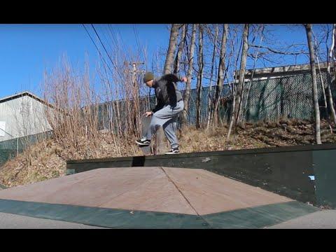 Camden Maine Skatepark Sesh