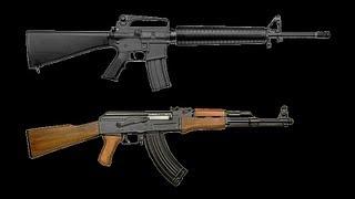 BEST RIFLE  AR15 OR AK47 FOR  ECONOMIC COLLAPSE WROL SHFT JIC