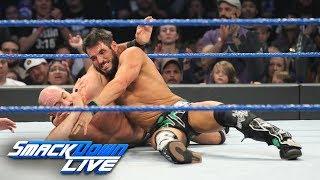 Johnny Gargano & Tommaso Ciampa vs. The Bar: SmackDown LIVE, Feb. 19, 2019