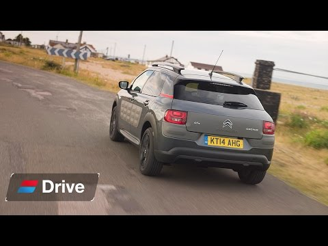Citroen C4 Cactus SUV Road Trip pt 1 of 3