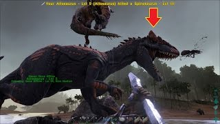 ARK: Survival Evolved #24 - Bắt được Quái dị long Allosaurus (mạnh hơn T-Rex)