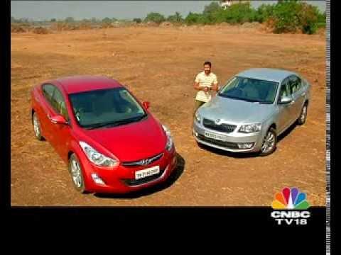 2014 Skoda Octavia vs Hyundai Elantra - Skoda Videos