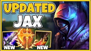 *NEW* JAX IS THE ABSOLUTE MOST BROKEN TOP LANER (GOD-MODE 1V5 CARRY) - League of Legends