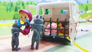 Маша и Медведь мультики с игрушками - Невинная Маша! Самые новые #Мультфильмы 2017/ Видео #для детей