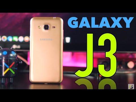Samsung Galaxy J3 2016 Unboxing (Vale la pena?)