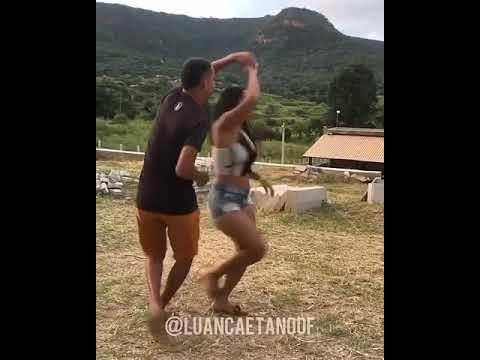 Luan Caetano Dancando pisadinha -Ela kika diferente