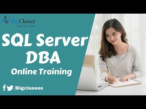 SQL Server DBA Online Training - YouTube