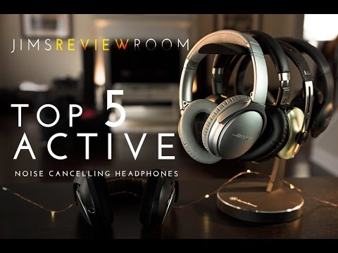 Top 5 BEST Wireless Active Noise Cancelling Headphones !