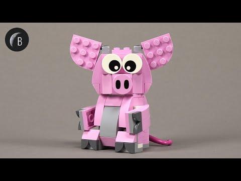 Vidéo LEGO Saisonnier 40186 : L'année du Cochon