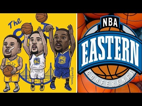 What If The Golden State Warriors played in The Eastern Conference?