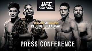 UFC Fight Night on ESPN+: Cejudo vs Dillashaw Press Conference