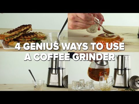 4 Genius Ways To Use A Coffee Grinder