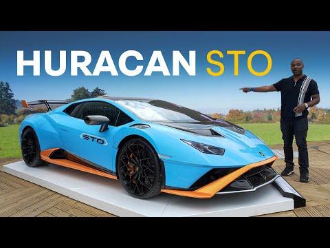 NEW Lamborghini Huracan STO - FLAT OUT At Goodwood