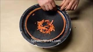 Latest Speaker Repair Video: Replace Speaker Surround Foam Edges