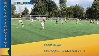 Lekvogels  -  sv Meerkerk 1 - 1