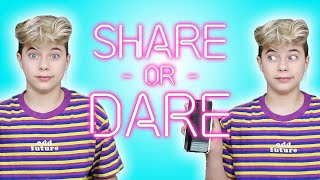Gavin Magnus Shares What's In His Phone | SHARE OR DARE