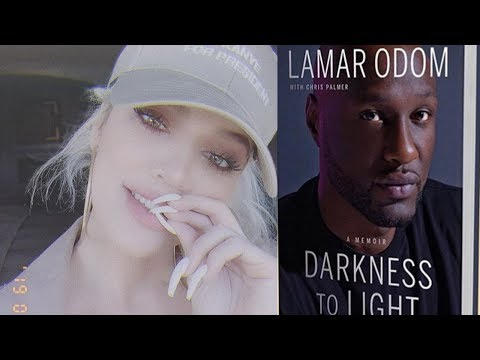 Khloe Kardashian BREAKS SILENCE On Lamar Odom's Tell All Book!