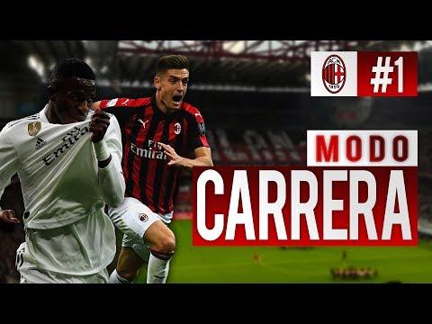 ¡¡FICHAJES PROMESAS!! ¡¡EL NUEVO MILÁN!!   FIFA 19 Modo ''Manager'' AC Milán - EP 1