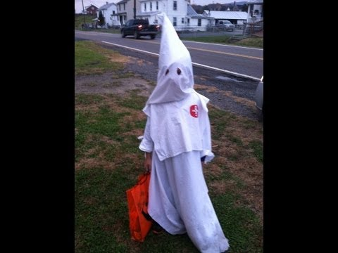 Ku Klux Klan Halloween Costume & The Cherokee County Sheriff