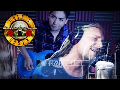 GUNS N´ ROSES - SINCE I DON´T HAVE YOU (Cover and Live Acapella) ft David Olivares