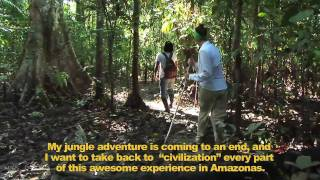 preview picture of video 'Reserva Marasha Amazonas —Lost Place in the Jungle.'