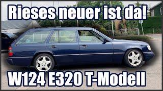 DER DICKE IST DA! Wir holen Rieses Mercedes Benz W124 E320 T-Modell (1994)